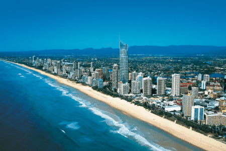 Four Great East Coast Destinations for a driving holiday - Gold Coast