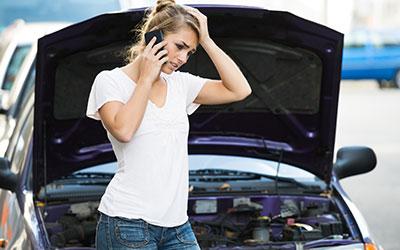 Car broken down - Brisbane